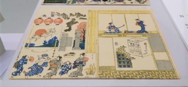 たばこと塩の博物館 見て楽し 遊んで楽し 江戸のおもちゃ絵/展覧会レポート