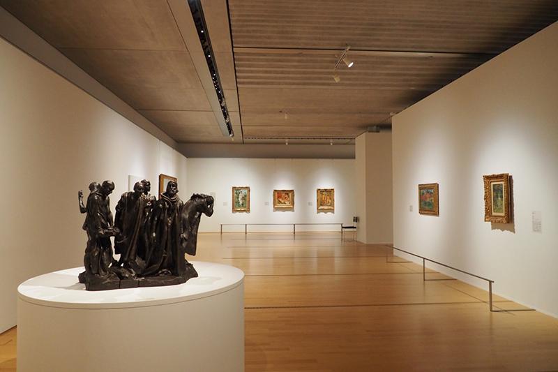 ポーラ美術館 Connections―海を越える憧れ、 日本とフランスの150年 OBIKAKE 展覧会レポート