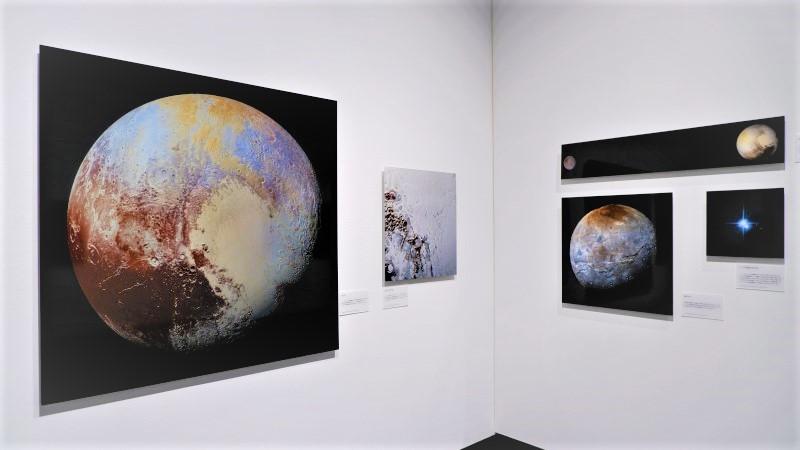 東京都写真美術館/展覧会レポート/OBIKAKE/138億光年 宇宙の旅
