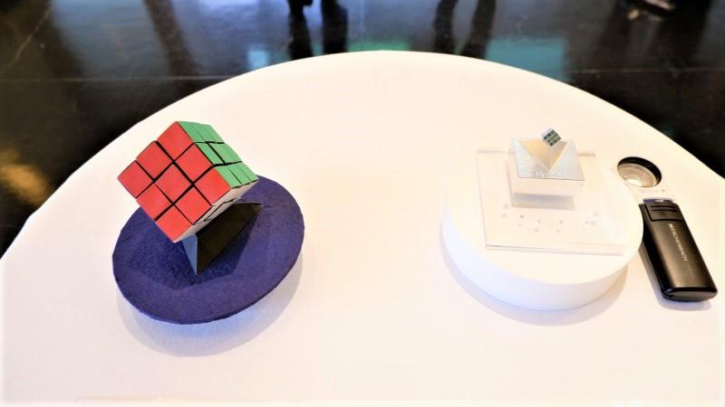 ルービックキューブ・アーティストコラボ展/ハンガリー文化センター
