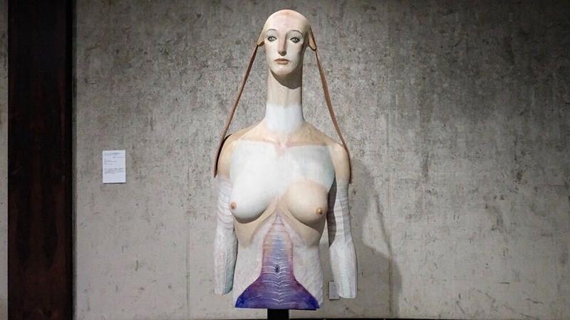 OBIKAKE 展覧会レポート 渋谷区立松濤美術館 舟越 桂 私の中にある泉