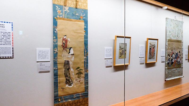 太田記念美術館 和装男子 浮世絵 日本美術 OBIKAKE 展覧会レポート
