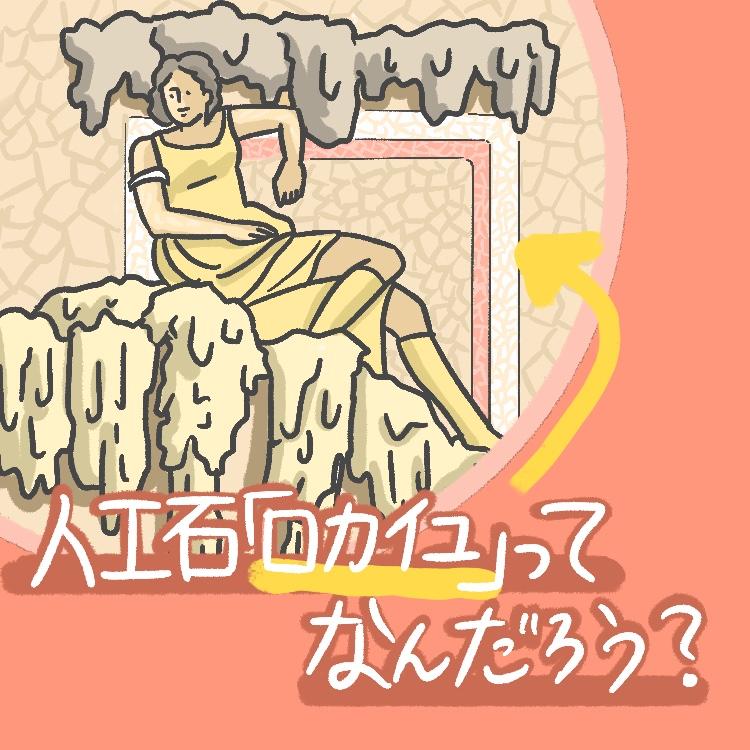 OBIKAKE ナニソレ ロココ様式 ロカイユ 人工石 IONA