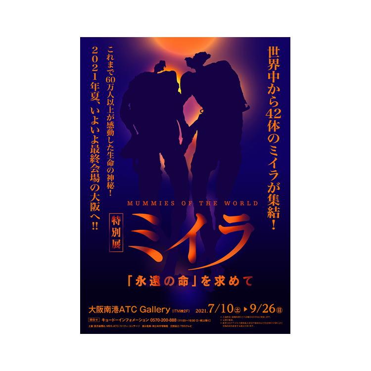OBIKAKE ニュース 特別展ミイラ 大阪ACT 最終会場