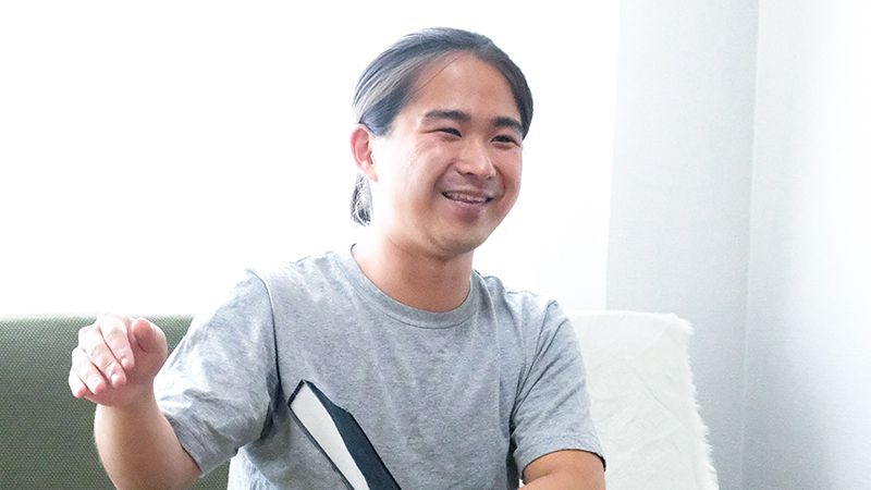 インタビュー Be-dan 深澤雄太 現代美術 油彩画 OBIKAKE