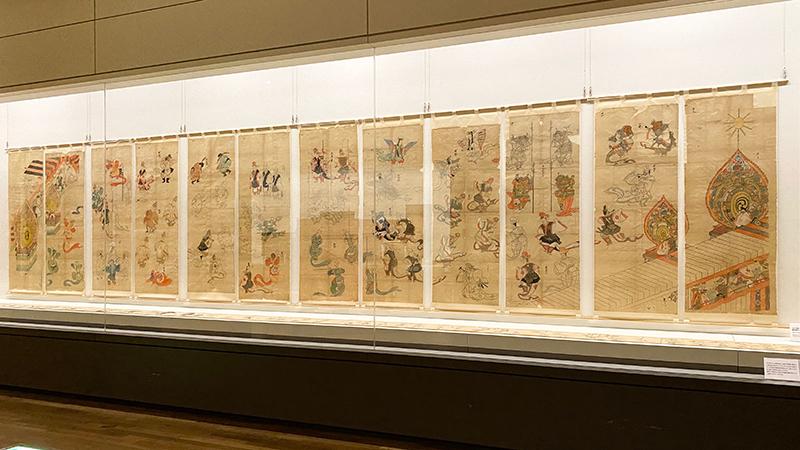 OBIKAKE 展覧会レポート 東京藝術大学大学美術館 藝大コレクション展 2021 I 期 雅楽特集を中心に