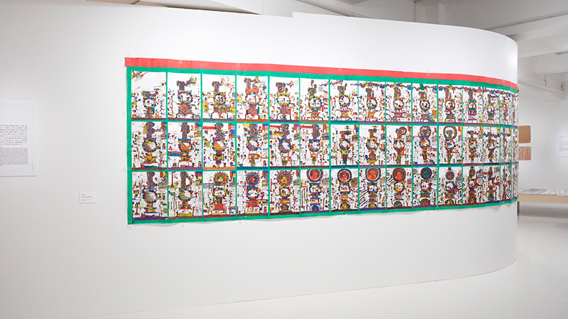 OBIKAKE 展覧会レポート ポコラート世界展「偶然と、必然と、」
