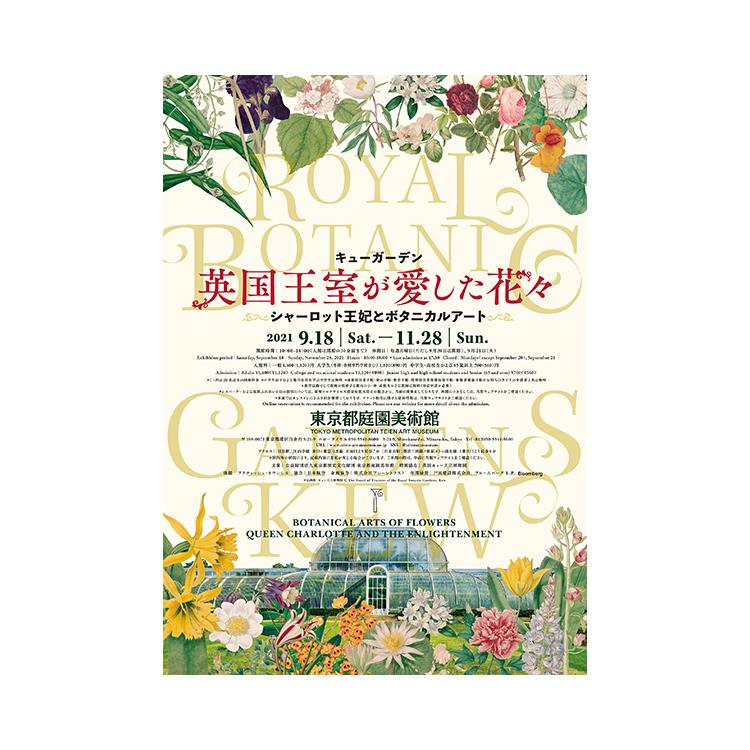 OBIKAKE ニュース 東京都庭園美術館 キューガーデン 英国王室が愛した花々 シャーロット王妃とボタニカルアート